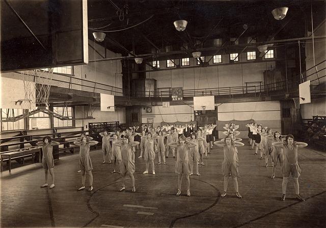 skupinová gymnastika